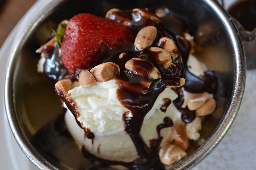 Everyone can feel like a celebrity with famous favorites like C.C. Brown's Hot Fudge Sundae.