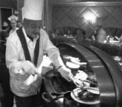 Covis Cuevas became a Master Carver in the 1970s, cutting his chops at Lawry's The Prime Rib Beverly Hills.