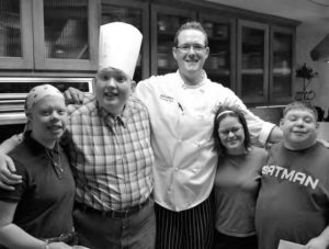 Chef Matt Melton teaches cooking classes